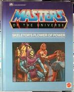 MOTU - Skeletor's Flower Of Power - A Golden Book png