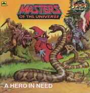 Masters Of The Universe - A Hero In Need cover