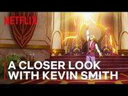 A Closer Look at MASTERS OF THE UNIVERSE- REVELATION with Kevin Smith - -GeekedWeek