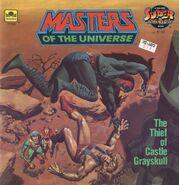 MOTU The Thief Of Castle Greyskull - Golden Super Adventure