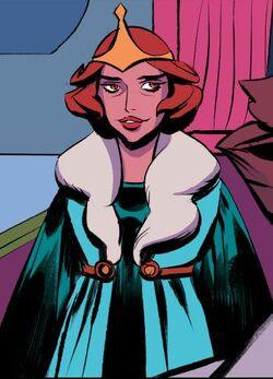 Marlena in the prequel comic series