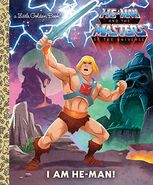 I Am He-Man Little Golden Book Cover