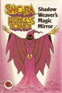 Shadow Weaver's magic mirror Ladybird cover