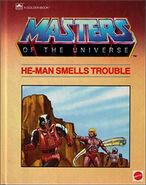 Motu - He-Man Smells Trouble - A Golden Book
