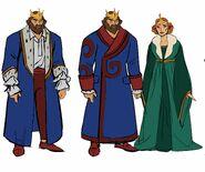 King Randor and Queen Marlena