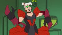 Scorpia in a G1 callback dress lol