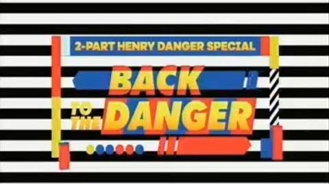 """""""Back to the Danger"""" Two Part Teaser Trailer w Drake Bell Guest Star Henry Danger"""