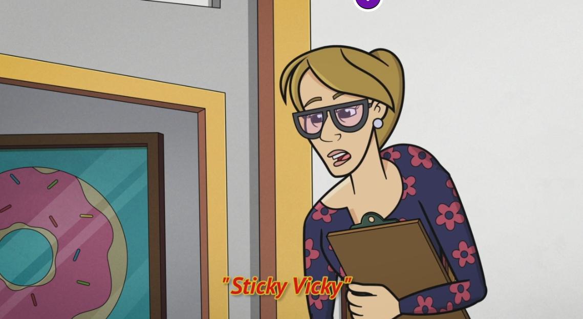 Sticky Vicky/Gallery