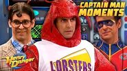 Captain Man's Most Captain Man Moments! Henry Danger