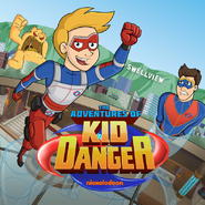 The Adventures of Kid Danger Cover