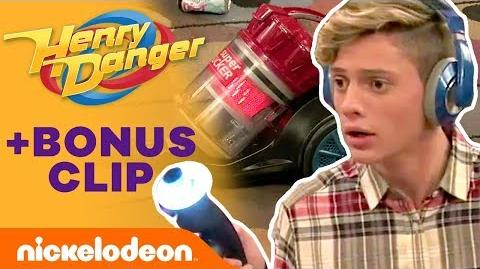 Charlotte Gets Sucked Into a Vacuum⁉️ Henry Danger Nick