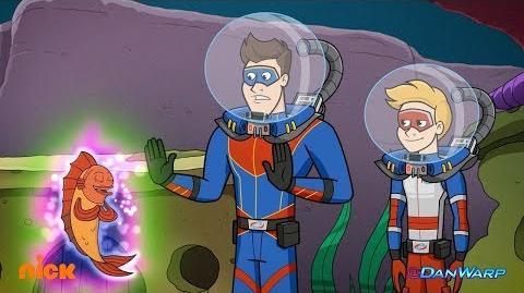 Captain Man's 3 Wishes! The Adventures of Kid Danger Dan Schneider