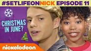Henry Danger Celebrates Christmas... in JUNE?! 🎄 BTS Ep