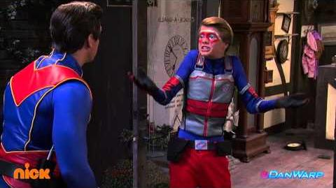 Henry Danger Slow Motion Explosion!