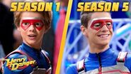 Henry & Captain Man's Crime Fighting Timeline 🥊 Henry Danger