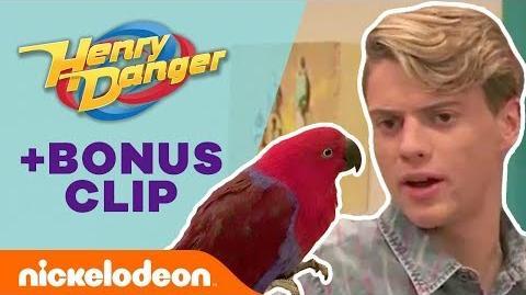 Kid Danger's Identity Revealed by a BIRD?! 🐦 Henry Danger Nick
