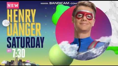Saturday March 23 Night of Premieres w HUGE 'Henry Danger' and the 2019 Kids' Choice Awards 💙🏆