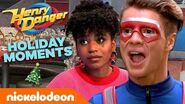 Henry Danger's Best Holiday Moments! 🎄 A Swellview Christmas Nick