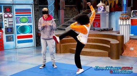"Charlotte Learns to Fight Brawl in the Hall ""Henry Danger"" Dan Schneider"