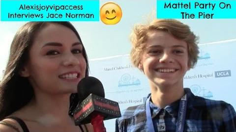 Henry Danger's Jace Norman Interview - Alexisjoyvipaccess - Mattel Party On The Pier-1