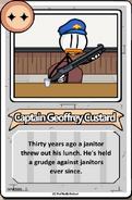 Captain Geoffrey Custard Bio THSC