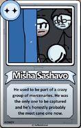 Misha Sashavo Bio