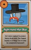 Right Hand Man Blue Bio
