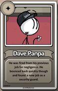 Dave Panpa Bio StD