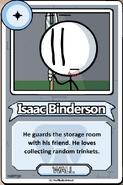 Issac Binderson Bio