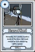 Franz Pferd Bio