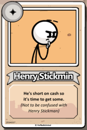 Henry is Breaking The Bank