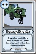 Lemoy Kreutz Bio