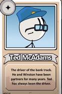 Ted McAdams Bio BtB