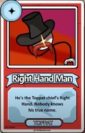 Right Hand Man Bio ItA