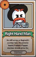 Right Hand Man Bio CtM