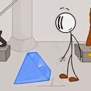 Henry stickmin with diamond
