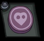 Moon Button Transparent