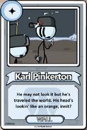 Karl Pinkerton Bio