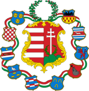 Hungary large coa 1849