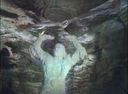 Atlas becomes statue