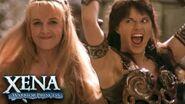 Xena And Gabrielle Dance Xena Warrior Princess