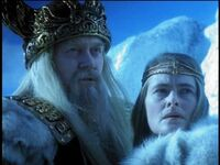 Odin and Frigga in Hercules