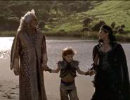 Эвандер, дед и баба