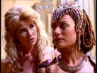 Aphrodite and Athena