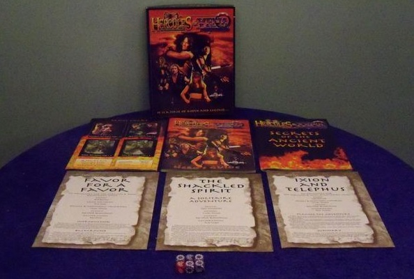 Hercules & Xena Roleplaying Game
