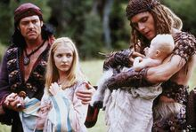 Belach, Daughter Nica and Xecan with their son.jpg
