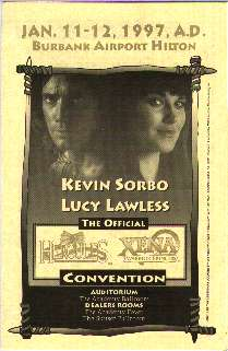Hercules & Xena Convention 1997