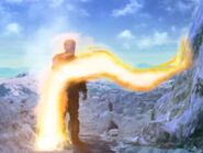 Helios in fire form