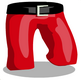 Trousers Santa Style