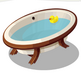 Moonbeam's Drawn Bath
